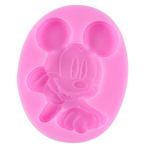 Happy Mouse Silicone Mold - Miles Cake & Candy Supplies