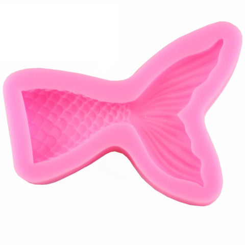 Mermaid Tail Silicone Mold, Small