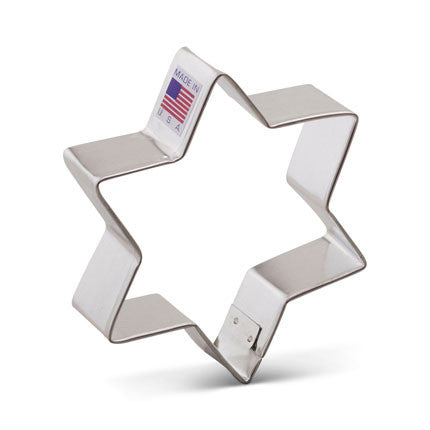 Star of David Cookie Cutter - Miles Cake & Candy Supplies