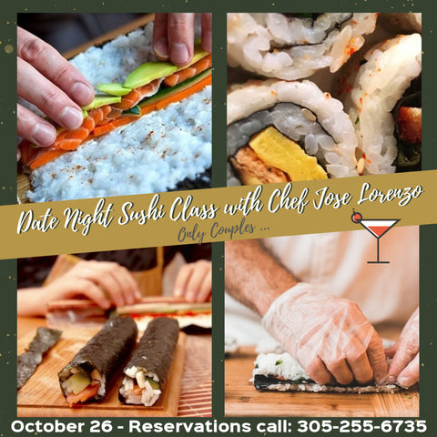 Date Night Sushi Class  (only for couples)