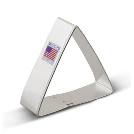 Triangle Cookie Cutter - Miles Cake & Candy Supplies
