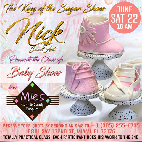 Baby shoes Class  with Nick Rincon