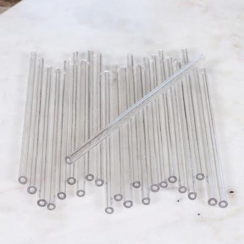 "6"" Clear Lollipop Sticks pkg 25"