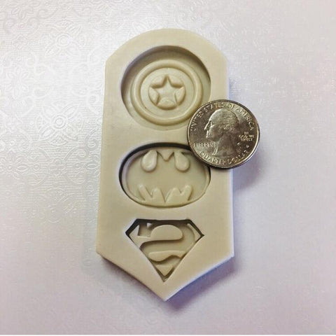 Super Heroes Silicone Mold
