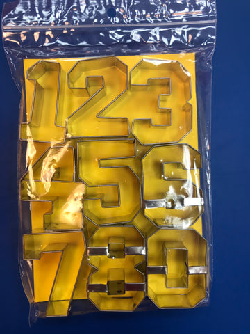 Versity Numbers Cookie Cutter