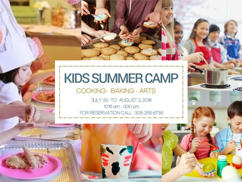 Baking, Cooking and Art Kids Camp