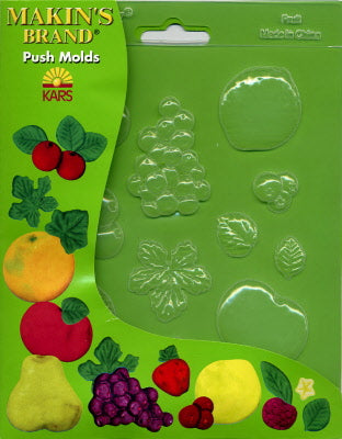 Fruits Decor Push Mold