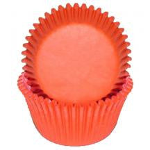 Orange Mini Baking Cups