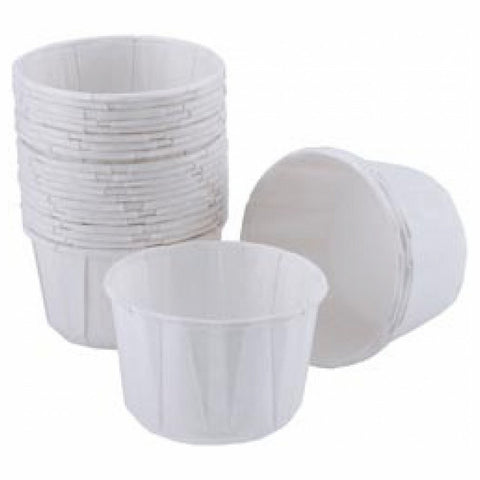 White Mini Nut & Party Cups