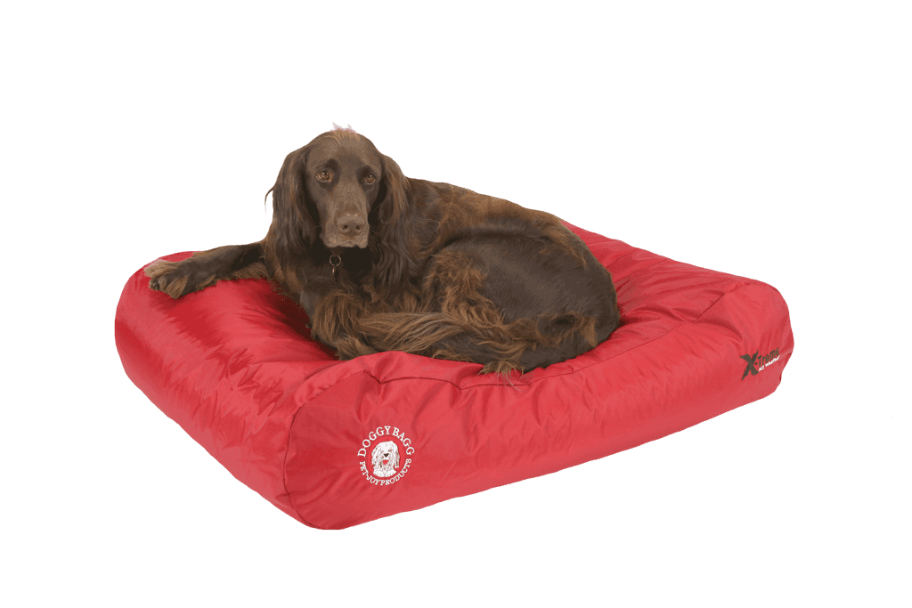 The Doggy Bagg® X-Treme All Weather Dog Bed | Chili Pepper