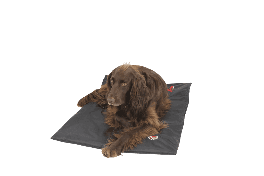 The Doggy Duvet Bench X-Treme All Weather Dog Mat | Black