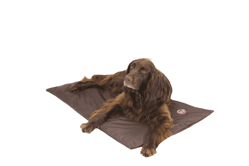 The Doggy Duvet Bench X-Treme All Weather Dog Mat | Brown
