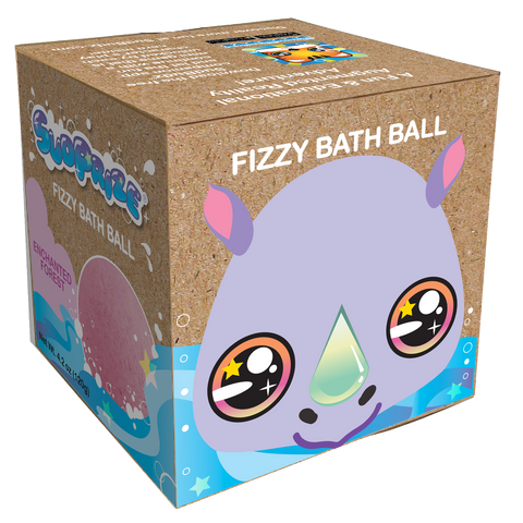 "Ricky the Rhino Fizzy Bath Ball <p><font size=""3"">Item #SUD004</font>"