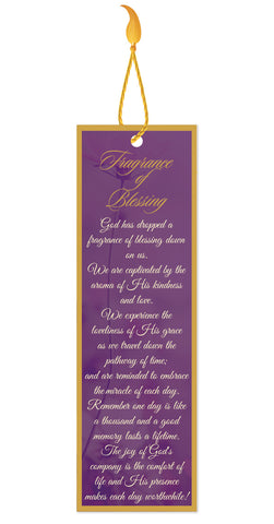 Fragrance of Blessing Bookmark – With Tassel