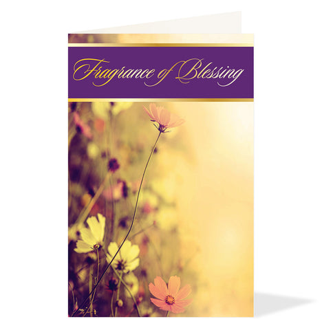 Fragrance of Blessing Greeting Card