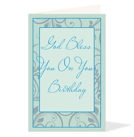 Religious Birthday Greeting Card