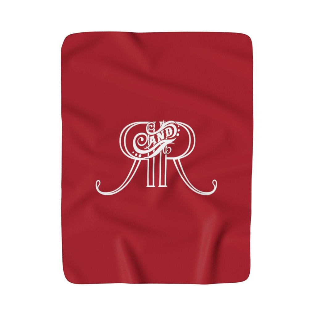 Relics and Rarities - Sherpa Fleece Blanket (Ruby)