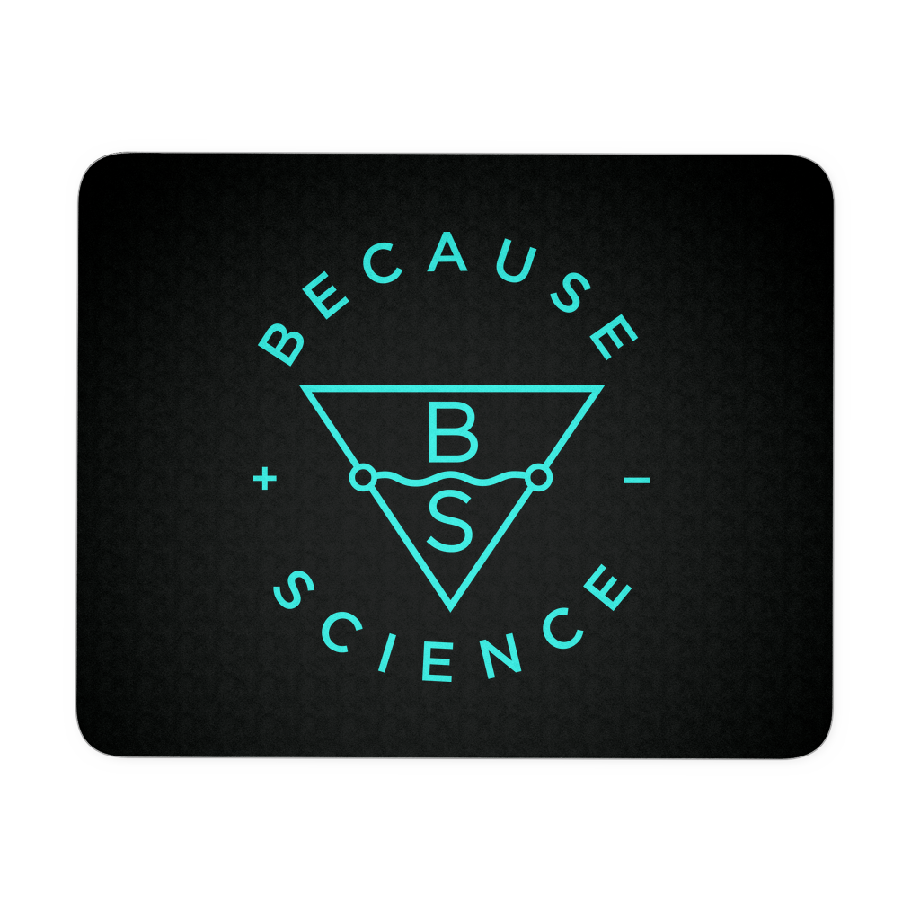 Because Science Logo Mousepad