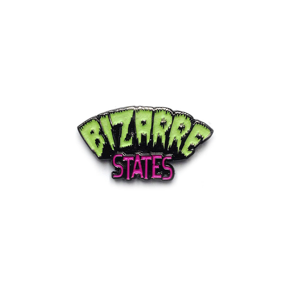 Bizarre States Logo Glow-in-the-Dark Enamel Pin