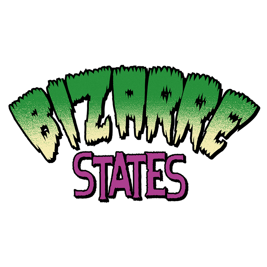 Bizarre States Vinyl Decal Sticker