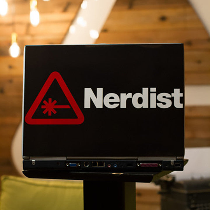 Nerdist Laptop Skin