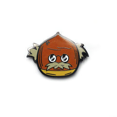 That Old Chestnut Enamel Pin