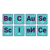 Because Science Elements Vinyl Decal