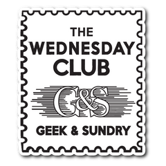 The Wednesday Club Vinyl Sticker