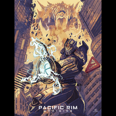 Exclusive Pacific Rim Uprising X Nerdist Limited Edition Art Print