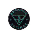 Because Science Logo Enamel Pin