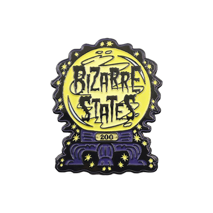 Bizarre States 200th Episode Anniversary Pin