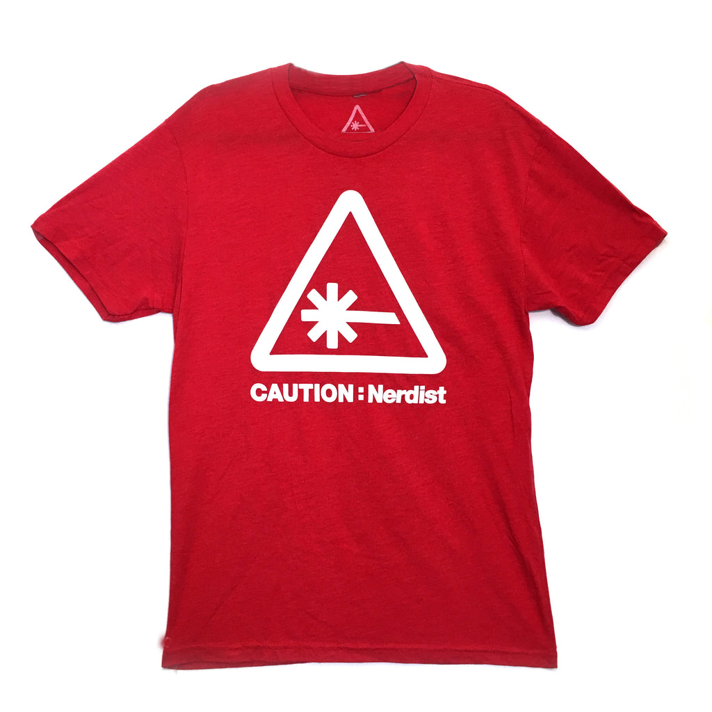 Caution Nerdist T-Shirt
