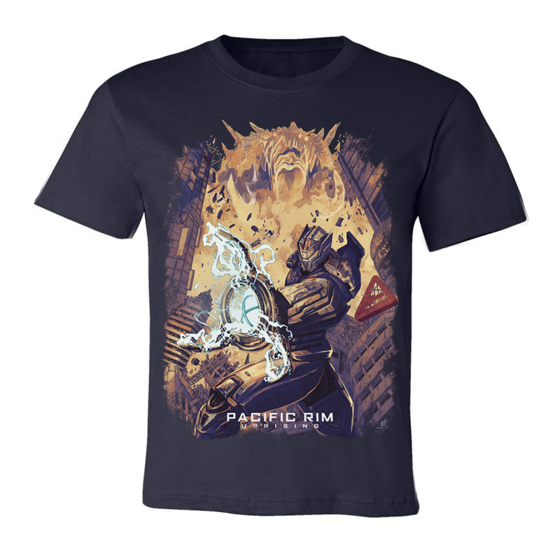 Exclusive Pacific Rim Uprising X Nerdist Limited Edition T-Shirt