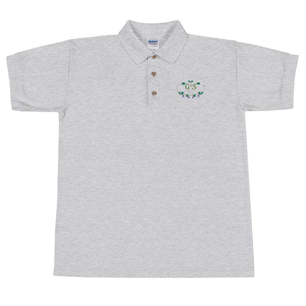 We're Alive Frontier -G&S Vineyards Embroidered Polo Shirt