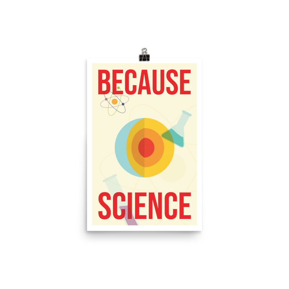 Because Science - Nerdist House San Diego 2018 Poster