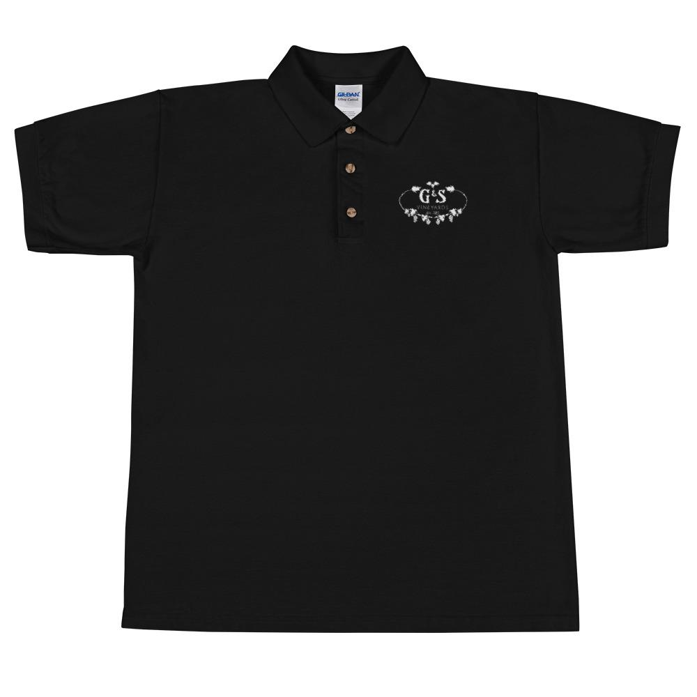 We're Alive Frontier - G&S Vineyards Embroidered Polo Shirt