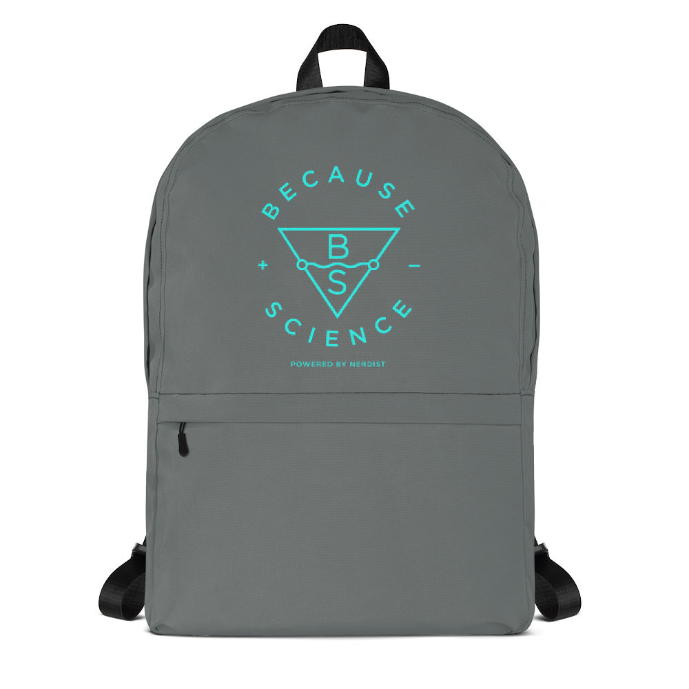 Because Science Backpack (Grey)