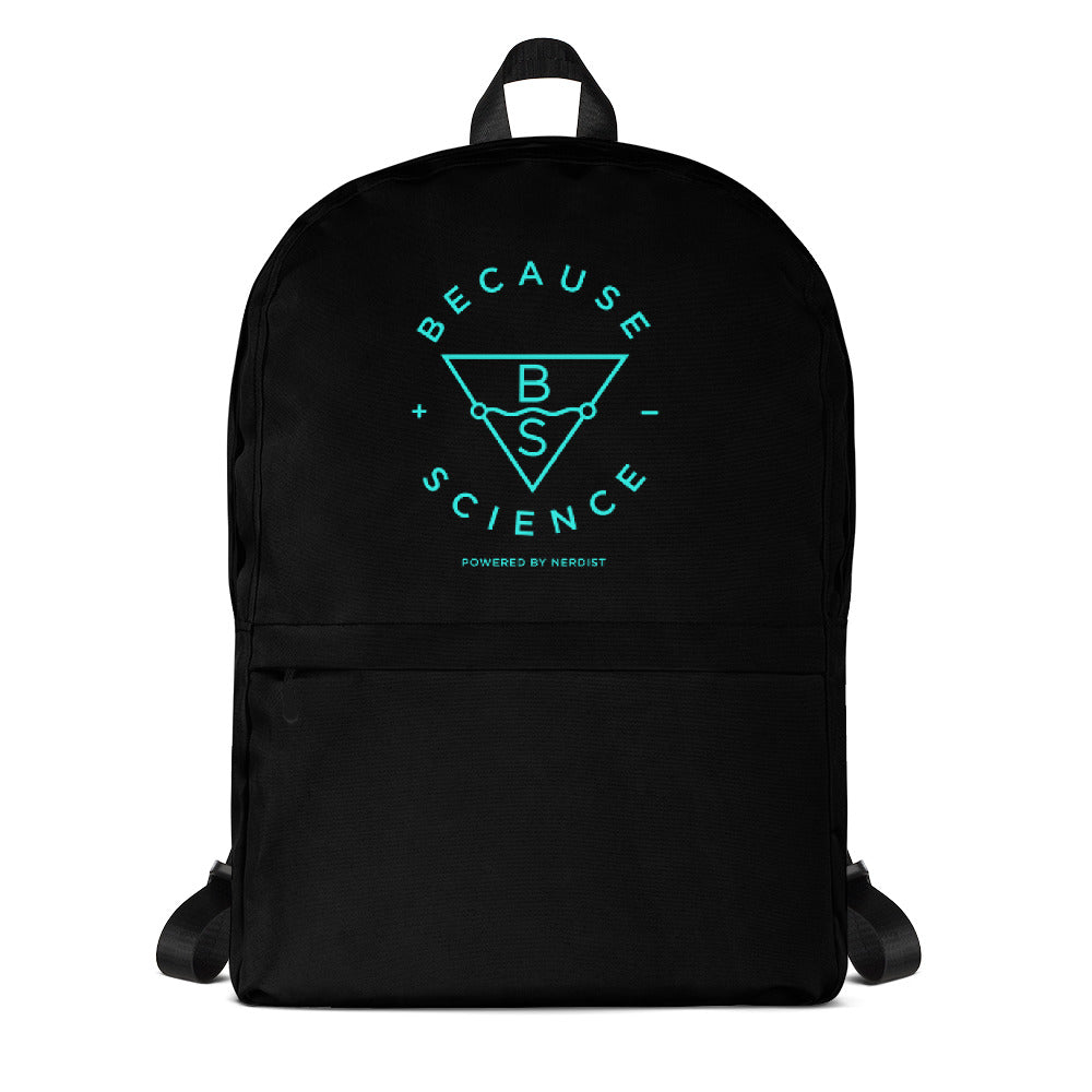 Because Science Backpack (Black)