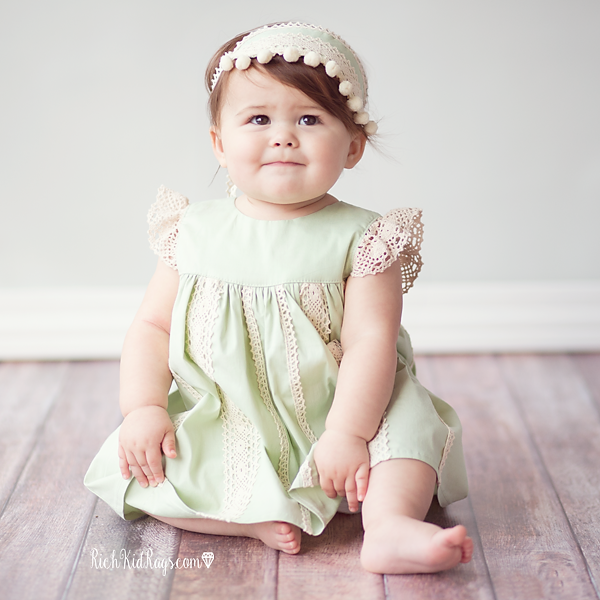 Charlie Dress {Mint}