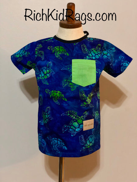 Sea Turtle Boys Label- Saver