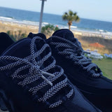 Black & White Rope Shoelaces