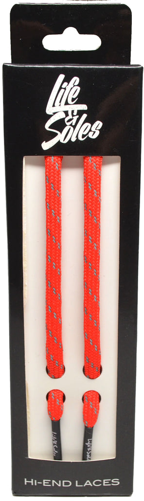 Red 3M ROPE Shoelaces