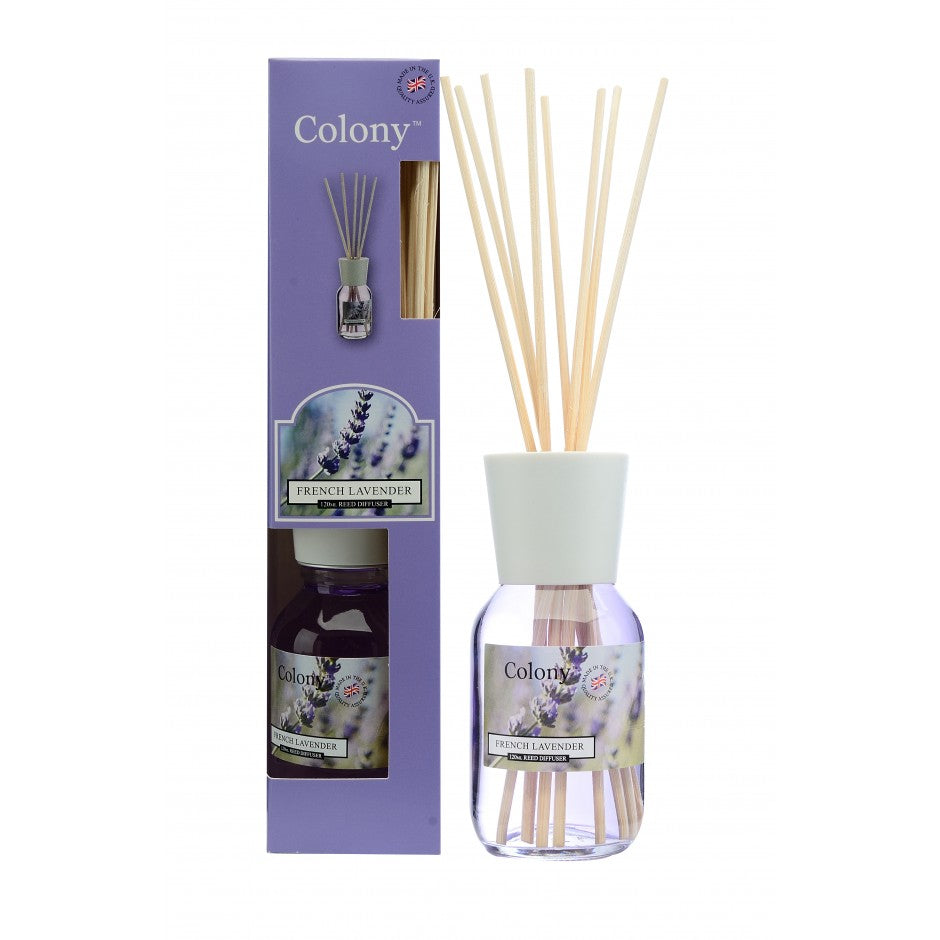 Colony French Lavender Reed Diffuser 120ml