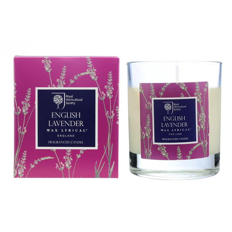 Wax Lyrical English Lavender RHS Fragranced Candle 190g