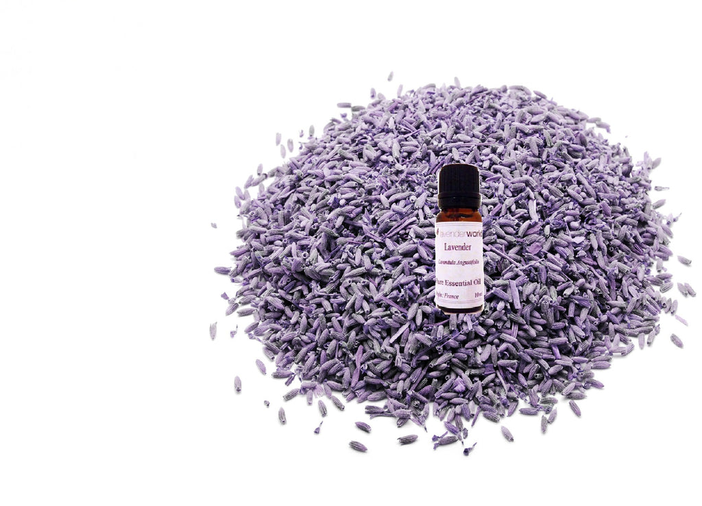 1KG Dried Lavender & 3 x Lavender Oil - 10ml Bundle