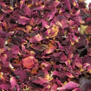 Dried Rose Petals - Dark