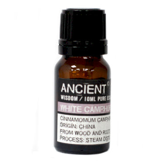 White Camphor Essential Oil - 10ml