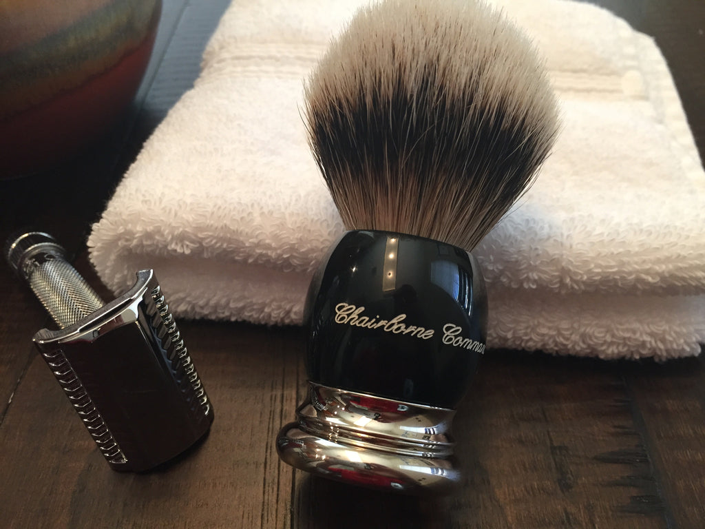 Chairborne 3 Band Silvertip Badger Save Brush