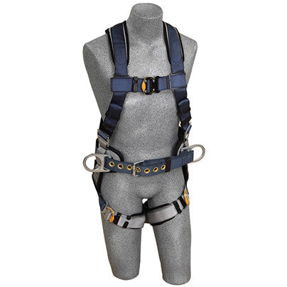 DBI Sala ExoFit Construction Style Positioning Harness-Back D-ring - belt with pad and side D-rings - quick connect buckle leg straps - image