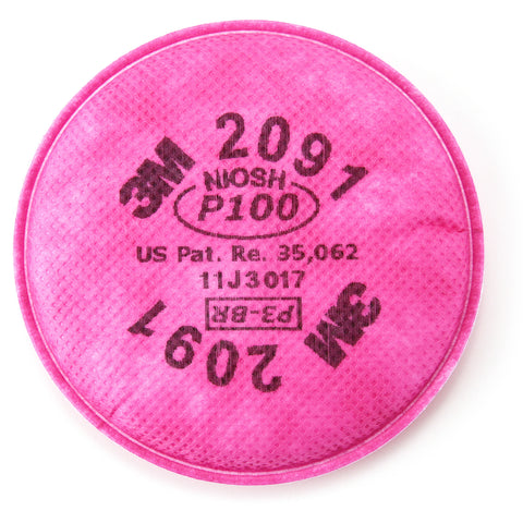 3m-particulate-filter-2091-07000-aad-p100-respiratory-protection-image